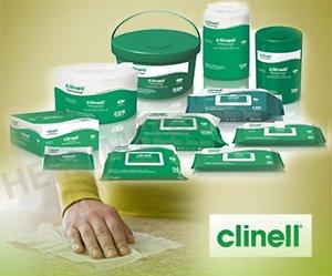 Clinell Reinigings- en Ontsmettinsdoekjes