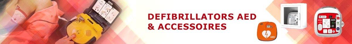 Defibrillators AED en accessoires