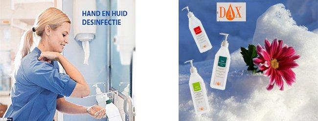 Hand en huid Desinfectie