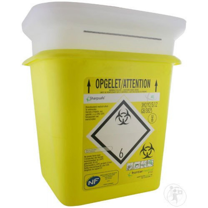 Sharpsafe Naaldcontainer 4L
