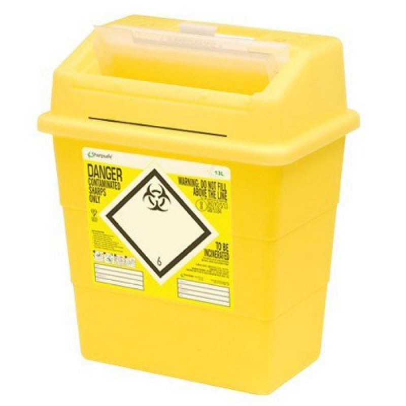 Sharpsafe Naaldcontainer 13L