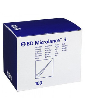 BD Microlance 3 naalden 16 G 1.6 x 40mm Wit (300637)