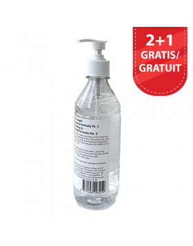 Handontsmetting met pomp 500 ml