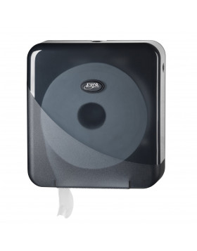 Dispenser toiletpapier Pearl black jumbo mini 431055