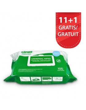 Clinell Universal Soft Wipes 100 stuks - multifunctioneel