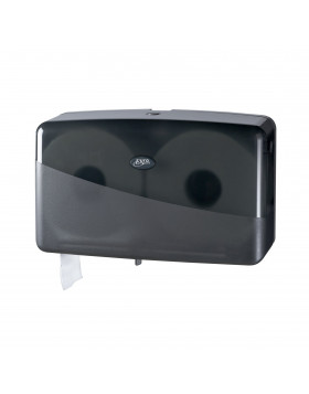 Dispenser toiletpapier Pearl black jumbo duo-mini 431057