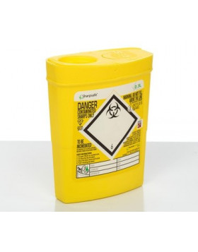 """Sharpsafe Naaldcontainer 0,3L """"Blade"""" opening"""