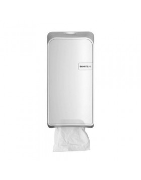 Dispenser toiletpapier Quartz White bulkpack
