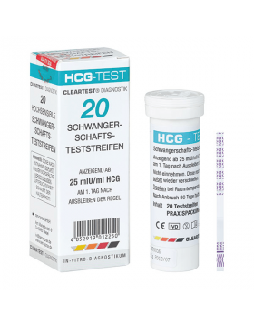 Zwangerschapstest Cleartest Eco 20 urinestrips