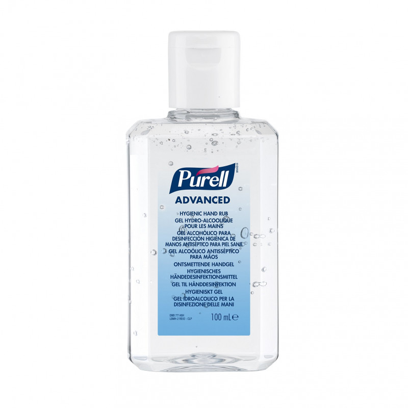 Advanced Gel Hydro-Alcoolique pour les Mains- Purell Gojo   Flacon poche 100ml