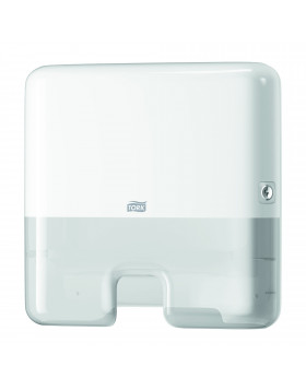 Tork Xpress Mini Distributeur pour Essuie-Mains interfoliés H2   Elevation Blanc 552100