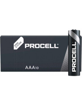Batteries Duracell Procell AAA/ LR03 10 pièces