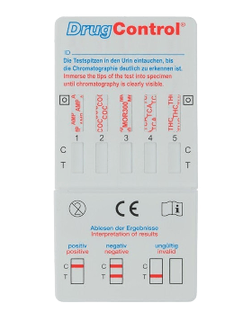 Test de drogues  Multi 5  DrugControl  5 pcs