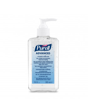 Advanced Gel Hydro-Alcoolique pour les Mains  Puell Gojo Flacon pompe 300 mL