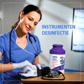 instrumenten desinfectie